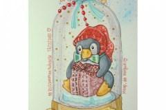 Pinguin-Glas