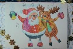 Singender Santa