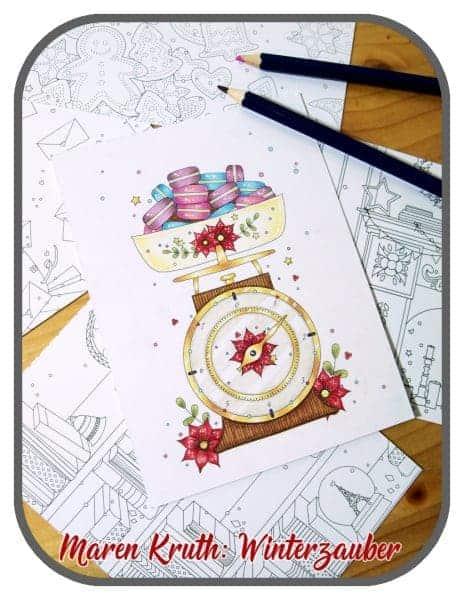 Maren Kruth Winterzauber Postkartenbuch