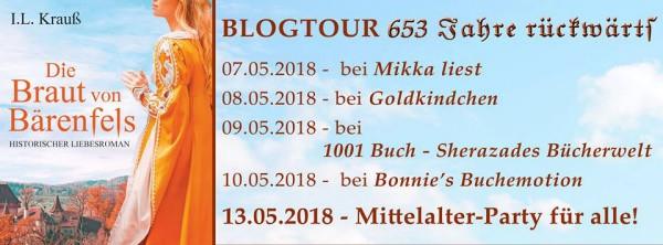 Blogtour Die Braut vom Bärenfels