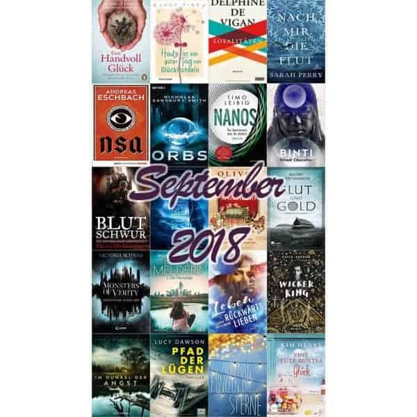 Buchneuerscheinungen September 2018