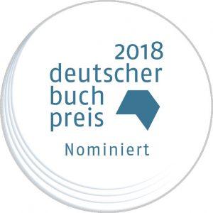 Deutscher Buchpreis 2018 Shortlist