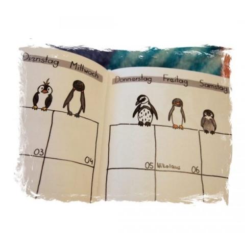 Detail Pinguine