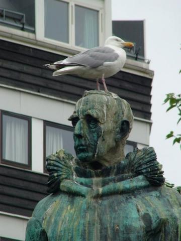 Amundsen und Freund in Tromsø