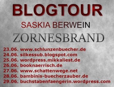 Blogtour Zornesbrand