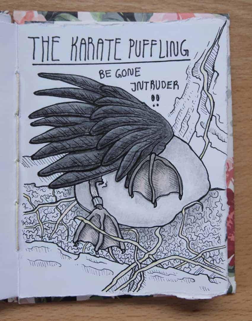 Karate Puffling