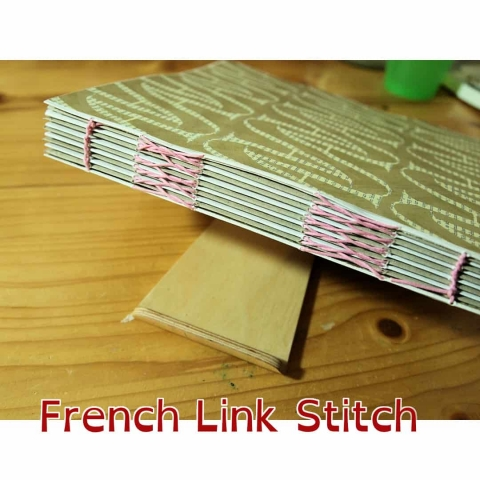 French Link Stitch