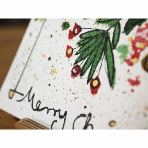 Details Weihnachtskarte