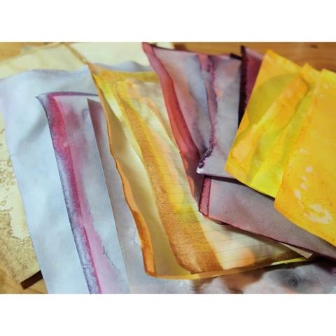 Färben: alle Papiere