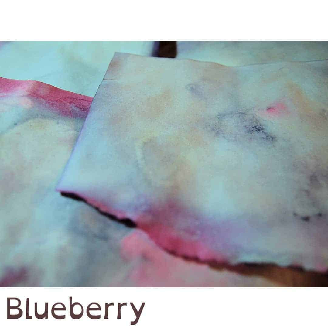 Färben: Blaubeertee