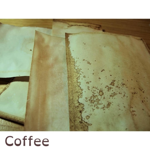 Färben: Kaffee