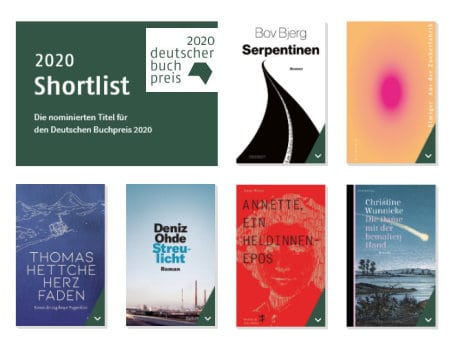 Deutscher Buchpreis 2020 Shortlist