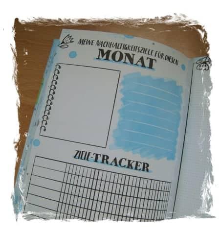 Monatsziele / Tracker