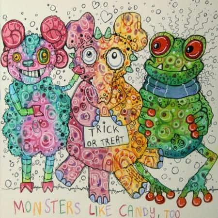 Happy Herbst Monster 2
